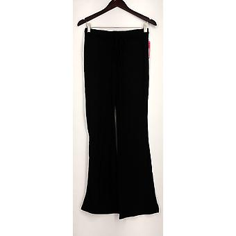 xhilaration Lounge Pant maglia Pull su Solid Black Womens