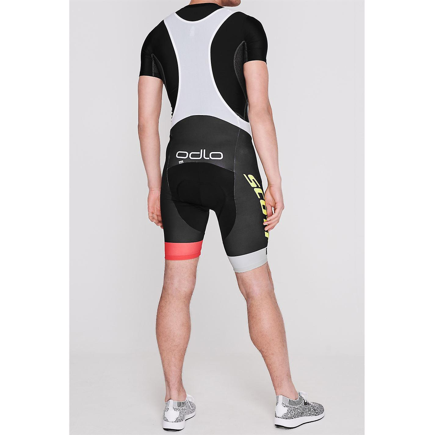 Odlo Herren Scott Bib Fahrrad shorts