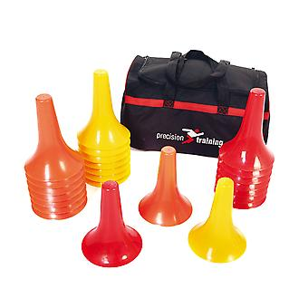 Precision Training Coaching Sports Marker Cone Drill Set