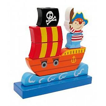 Legler Pirate Ship To Strung (Babies and Children , Toys , Educative And Creative)