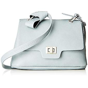 s. Oliver (väskor) City Bag-blå kvinnors axelväskor (grå blå) 8.5 x22x15 cm (B x H T)
