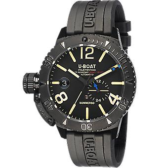 U-boat Sommerso Automatic Analog Men's Watch with 9015 Cowskin Bracelet
