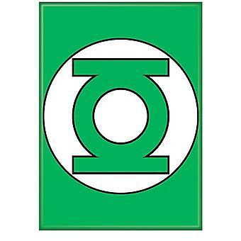 Groene lantaarn symbool groene magneet