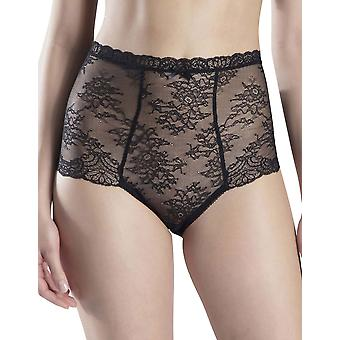 Aubade OG24 Women's Danse des Sens Black Lace Shaping High Waist Brief