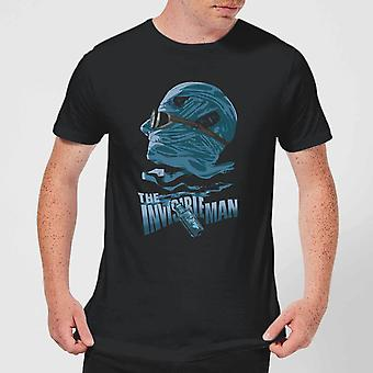 Universal Monsters The Invisible Man Illustrated Men's T-Shirt - Negro