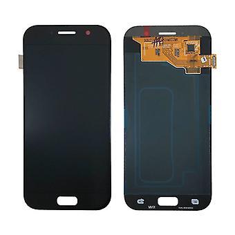 Stoff zertifiziert® Samsung Galaxy A5 2017 A520 Bildschirm (Touchscreen + AMOLED + Teile) A + Qualität - Schwarz
