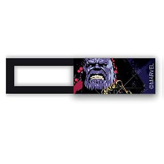 Webcam kansi/Slider-lisenssi™-THANOS 02-musta