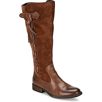 B.O.C Womens cook Fabric Pointed Toe Knee High Fashion Boots