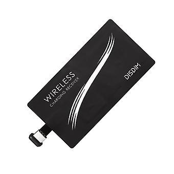Qi Adapter-Wireless Empfänger zum Aufladen von USB-C-Black