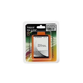 Batteria sostitutiva Ontrion 1200mah Lithium Ion per Samsung Indulge Sch R910