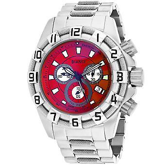 Roberto Bianci Men's Placenza Red Dial Uhr - RB70640