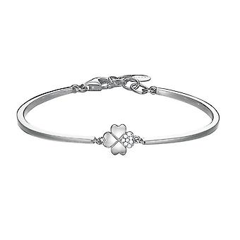 ESPRIT damer armbånd Bangle sølv fire - leaf clover ESBA91256A600