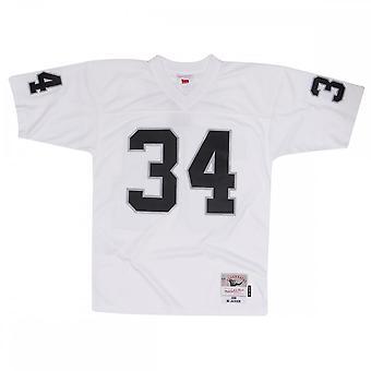 Mitchell ja Ness Nfl Los Angeles Raiders Bo Jackson 1988 Valkoinen Perintö Jersey