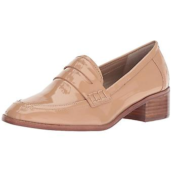 Steven by Steve Madden Womens Iona Leather Closed Toe Loafers