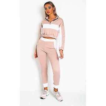 IKRUSH Womens Harlow Striped Lounge Co-ord