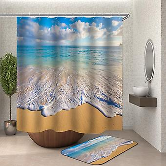 Blid Ocean Shower gardin
