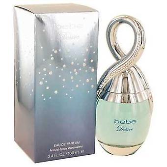 Bebe Desire By Bebe Eau De Parfum Spray 3.4 Oz (women) V728-503046