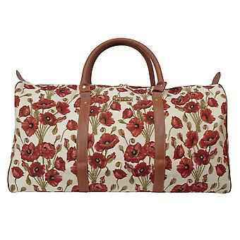 Poppy big travel holdall by signare tapestry / bhold-pop
