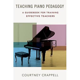 Undervisning piano pedagogik av Courtney Crappell