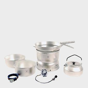 New Trangia Camping 25-2 Stove With Gas Burner Silver
