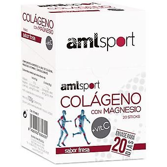 Amlsport Collagen + Magnesium + Vitamin C 20 Sticks