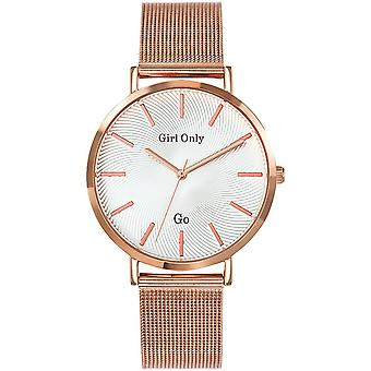 Vaya a chica solo 695995 - esposa Rose gold watch acero