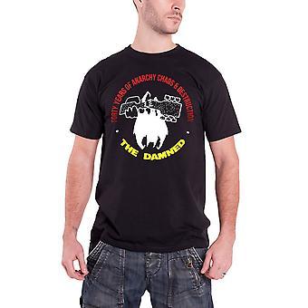 Die verdammte Herren T Shirt schwarz vierzig Jahre Anarchie Band Logo offiziell