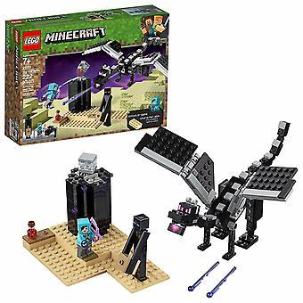 LEGO Minecraft-End battle