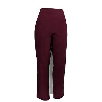 Joan Rivers Classics Collection Women's Pants Regular Purple A300856