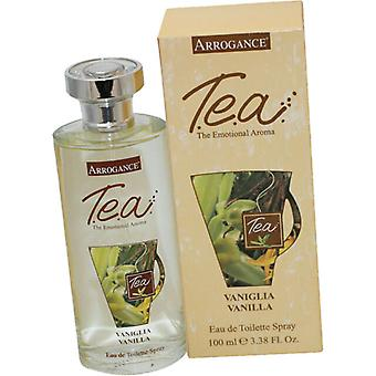 Arrogantie T.E.A Vanilla Eau de Toilette 100ml EDT Spray