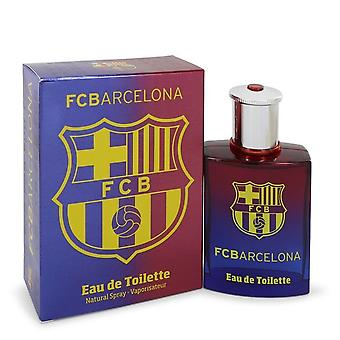 FC Barcelone par Air Val International Eau De Toilette Spray 3.4 oz/100 ml (hommes)