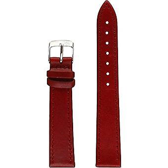 Malko A01X3425695081CR16, 16 mm leather strap men's AGILA Bordeaux