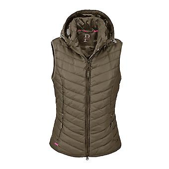 Pikeur Libell Womens Quilted Waistcoat - Olive Tree