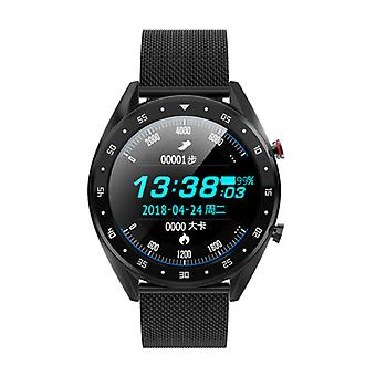 Lemfo SmartWatch Sports Fitness Sport Activité Tracker Smartphone Watch iOS iPhone Android Samsung Huawei Black Metal