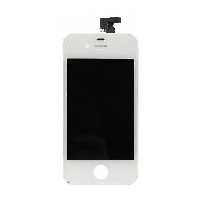 Stuff Certified® iPhone 4 Screen (Touchscreen + LCD + Parts) A + Quality - White + Tools