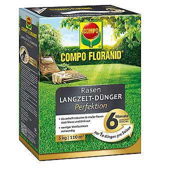 COMPO Floranid® lawn long-term fertilizer perfection, 5 kg
