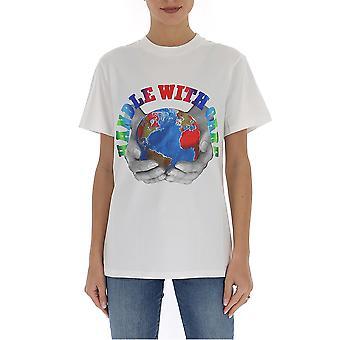 Stella Mccartney 572483smp619000 Men's White Cotton T-shirt