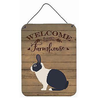 Dutch Rabbit Welcome Wall or Door Hanging Prints