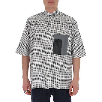 Corelate 145a201690 Men's White/black Cotton Shirt