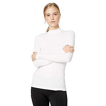 Starter Women's Compression Mockneck Top, Exclusive, White, M