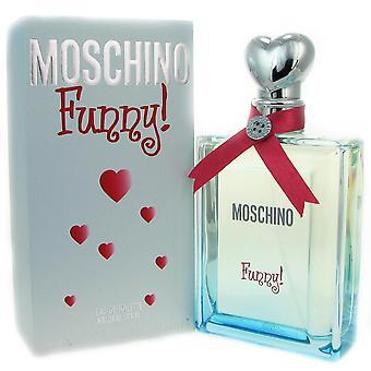 Moschino funny for women 3.4 oz eau de toilette spray