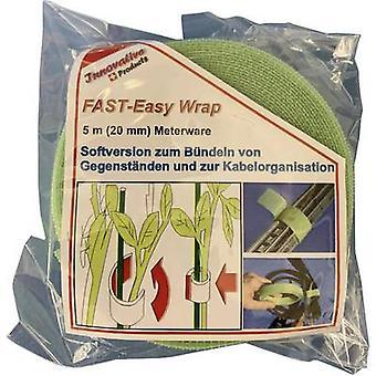 FASTECH® 704-322-Bag Haken-und-Loop-Band für Zimmerpflanzen und Garten Haken und Loop Pad (L x B) 5000 mm x 20 mm Grün 5 m