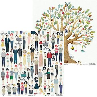 Piatek13 - Paper We are family 03 P13-FAM-03 12x12