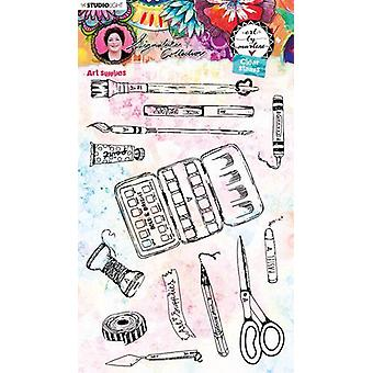 Studio Light Art By Marlene 5.0 Clear Stamps-NR. 51