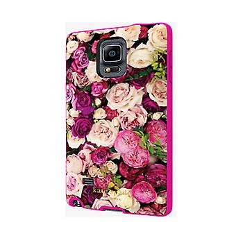 Kate Spade Flexible Hardshell Case for Samsung Galaxy Note 4 (Photographic Rose)