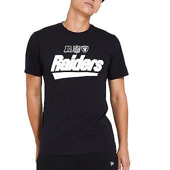 New Era WORDMARK Paita - NFL Las Vegas Raiders musta