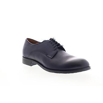 Robert Wayne Emanuelle  Mens Blue Leather Dress Oxfords Shoes
