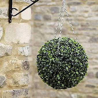 Topiary Artifical Outdoor/Indoor Plant Hanging Ball DecorWith Chains (30cm)