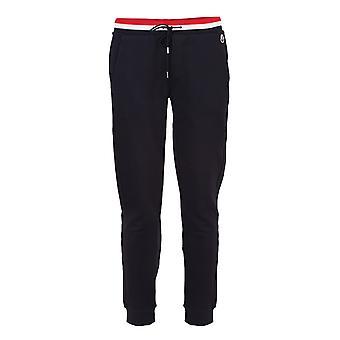 Moncler 8h70400v8007778 Men's Blue Cotton Pants
