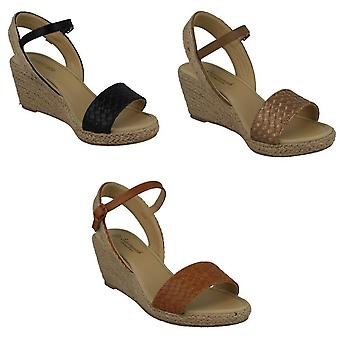 Savannah Womens/Ladies Rope Wedge Sandals